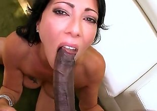 Sex starved babe Zoey Holloway with sexy butt and neatly shaved pussy likes acquiring her hole attacked by big black cock. Dark monster cock brings her to the edge of nirvana!
