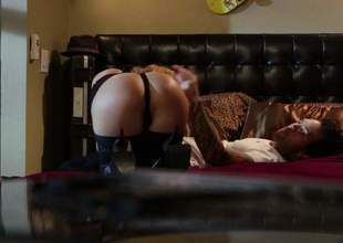 Hot ass spoil Krissy Lynn is horny as hell together with makes her sex her sex dreams a certitude assuredly in the meeting-hall with her bang buddy. Shes a wicked woman that loves hardcore sex together with cant get enough