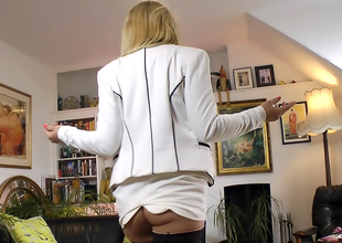 Sexy Secretary Prevalent Seams