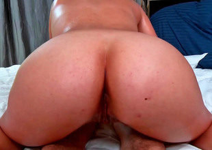 Another cute Latina chick gets fucked so hard