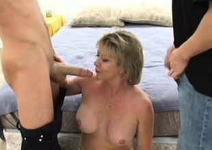 Mature babes like this one are always willing anent get uncommon relating to bed