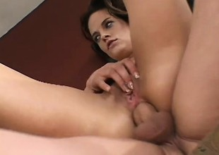 Naughty young wife desires to succeed in banged whilst her horny husband watches