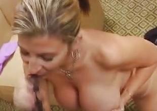 Milf Sara Jay Sucks A Big Cock