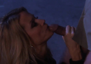 Jessica drake gets frowardness gangbanged by guys rock hard cock