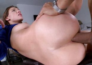 Callie Calypso drilled in her bootyhole