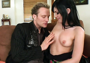 Suntanned Andy Sandimas with phat boodle is desperate for man jizz