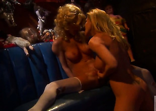 Sammie Rhodes is take the mood for pussy licking and does it with lesbo Lexi Lamour