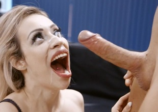 Busty Blonde Milf Chessie Kay Gets Nailed take the Office