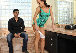 Rahyndee James & Ryan Driller in My Ally Shot Girl