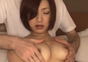 Nene Iino can wait to drink after harsh porn moments