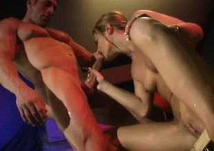 Anal addict Amy Thist begs to have a big constant ramrod not far from her butt