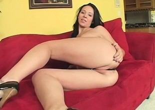 Naughty starlet gets kinky and fucks a libidinous guy's brains out
