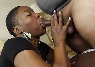 I gave this SLUT, Kenya Jones, a face full of JIZZ