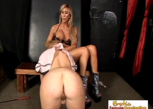 Perky Blond Accompanying Is Perfect For Mistress Morgan Ray