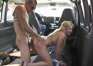 OH HELL NAH! The last thing you want to attain in life is cheat on your gurl, and let the Group-sex Bus arrested her when she is mad! We creep up around the mall, and find this babe Mia Pearl arguing with her dude. She was heated as fuck! So we confab her up, and convi
