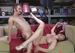 Dana DeArmond gets her sexy tight pussy licked and played with