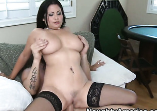 Billy Glide loves always sopping warm love hole of Senorita Sophia Lomeli with big tits