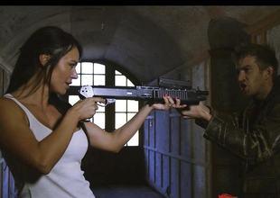 Cumshots with gunshots hot action sex movie with Franceska Jaimes and Lexi Lowe