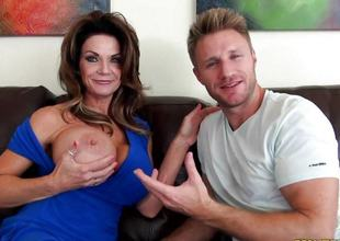 Pussy pie female parent Deauxma screwed deep
