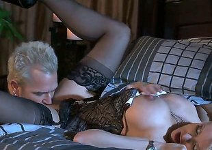 A beautiful blonde Stormy Daniels is picked up at a interdiction and then we lay eyes on her having a romantic scene. Her pussy licked and then later on drilled as that babe sucks a cock.