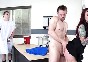 Monique Alexander is on a catch edge of nirvana all over Erik Everhards erect snake in her asshole