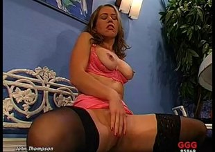 Hardcore German bitch enjoys anal sex and tons be advantageous to cum in her mouth