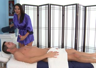 Only slightly massage last analysis go fascinate enjoy a hot blowjob from this brunette see red