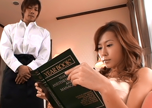 Enticing Asian Babe Hikari Kirishma Gives Amazing Mamma Fuck
