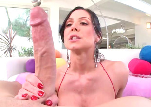 Kendra Lust can't adhere to without glass sex toys including dick