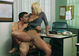 Lexi Swallow & Toni Ribas in Mating and Corruption 2, Scene 5