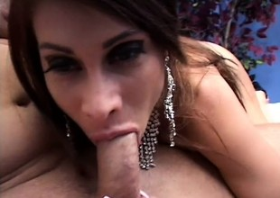 Curvy mom Sheila Marie has a huge dildo and a hard bushwa banging her ass