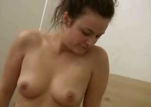 Amateur in underclothes ambit dance for her boyfriend