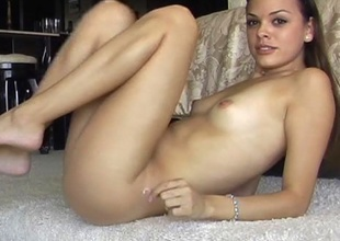 Hot Model Movie scenes Herself Getting Off at Home