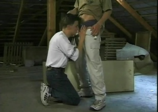 While most of the class are learning anatomy in men's health, two hot twinks with fruitful cocks group they'll learn greater amount by studying each other, in this Eighteen minute scene.  They find an attic, and show they're in no mood to waste time, with a kiss that leads r