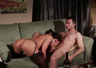 Adriana Chechik fucked hard in her concupiscent minge