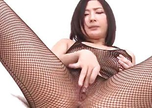 Megumi Haruka amazes in will not hear of naughty solo play