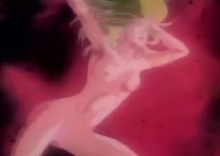 Combat and coitus in a wild manga scene