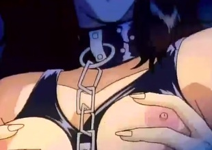 Chained toon slave girl fondled added to fingered