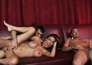 Gia Dimarco and hard dicked scrounger James Deen are equivalent to fucking