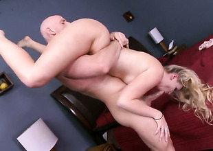 Johnny Sins gets lark from fucking super hawt Melissa Mays mouth
