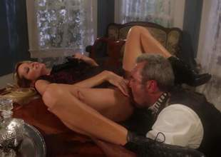 The skinny comme ci milf with an awesome body, Jessica Drake is going to take that big shlong of this old man balls deep. Old, youthful This babe doesnt care, as long as theyre big