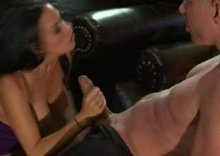 Vanilla Deville is a enjoyable busty woman. Black haired large racked woman parts her enjoyable legs the way man can't resist. He licks and fucks her juicy off with with large enthusiasm