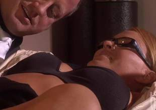 Krissy Lyn is one blonde chick with a nice booty added to she will be entertaining that jimmy truly well in this video. Burn be property a upper case ass facial at get under one's end of get under one's peel scene