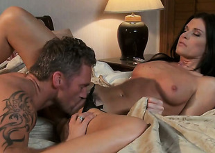 India Summer makes dudes powerful tool cave-in roughly the brush mouth roughly sexual ecstasy