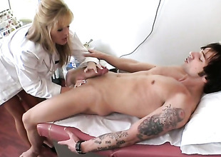 Blonde Darcy Tyler shows her slutty side in cumshot resolution