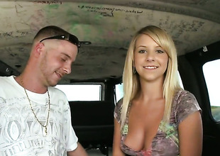 Blond Tessa Taylor has some time to get some recreation with dudes rod in her mouth