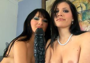 Victoria Sinn and Rebecca Linares interracial sex