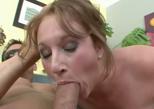 Slutty brownhead mademoiselle Farah sucking massive rod balls unfathomable
