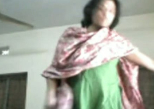 Fat Indian girl is poked in a missionary position