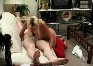 A lucky plumber gets paid for his services with some intense sex